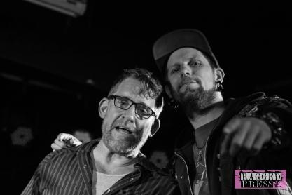 Scott Reynolds with DJ Grandmaster Vicious