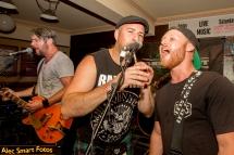 The Go-Set, Dicey Rileys Irish bar, Wollongong, NSW, Australia. Photo: Alec Smart, Saturday 17 March 2018