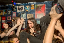 Face Command, Moshpit, Erskineville, Sydney, Australia. Photo: Alec Smart, Friday 4 May 2018